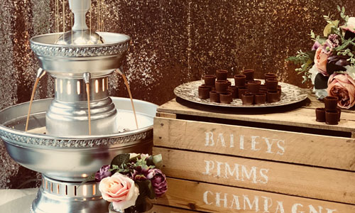 Bailey drinks fountain hire