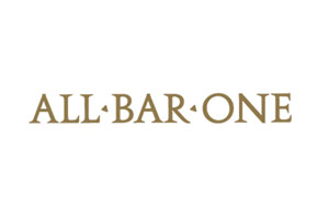 Client Logo All Bar One - Corporate event venue styling