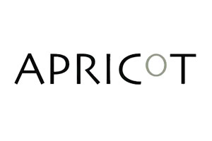 Client Logo Apricot Corporate event venue styling