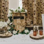 Wedding wooden post box hire