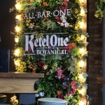 All Bar One Botanical Foliage backdrop