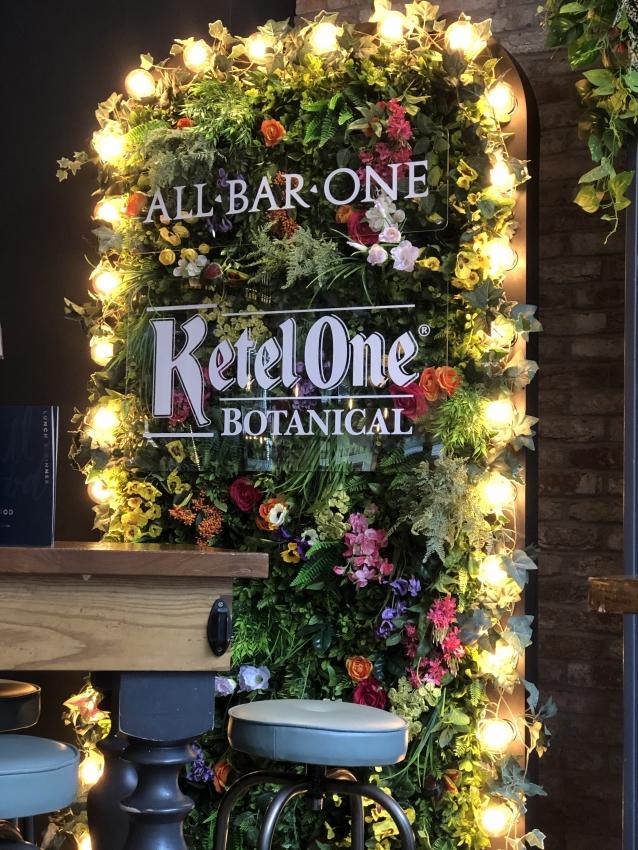 All Bar One Botanical Foliage backdrop