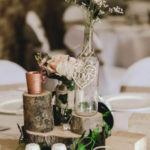 Rustic Wedding center piece