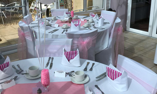 Wedding table Decor Hire Peterborough