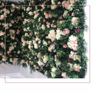Apricot Clothing Flower wall