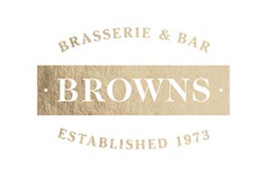 Browns Brasserie - Corporate event venue styling