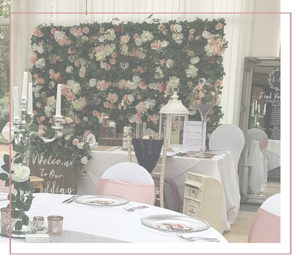Wedding Flower Wall Hire Peterborough